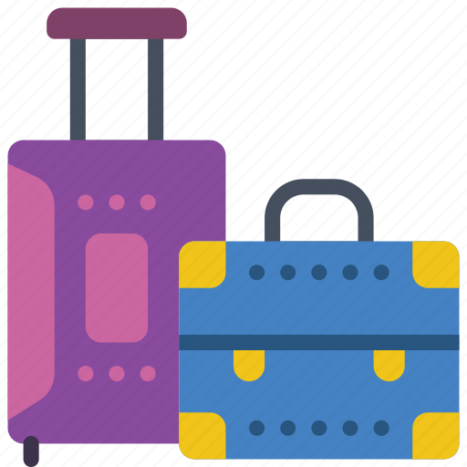 bags, holiday, luggage, suitcases, vacations icon
