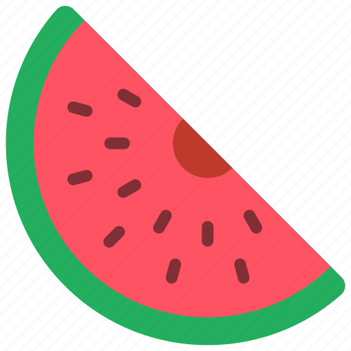fruit, holiday, melon, vacations, water icon
