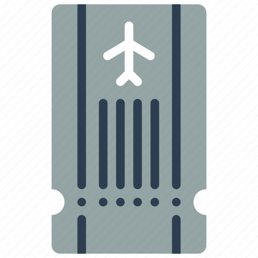 airport, documents, flight, plane, ticket, vacations icon