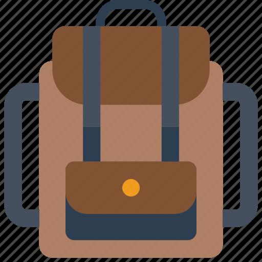 backpack, bag, holiday, rucksack, vacations icon