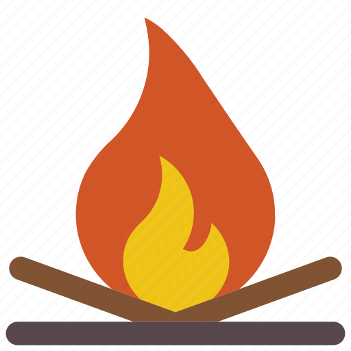 camp, camping, fire, holiday, vacations icon