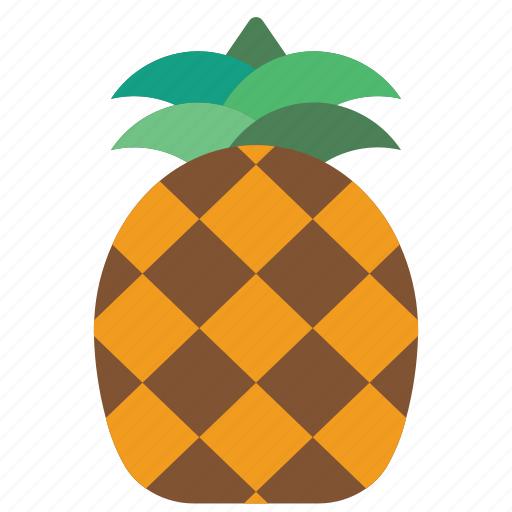 food, fruit, holiday, pineapple, vacations icon