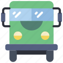 bus, coach, greyhound, tour, tour bus, vacations icon