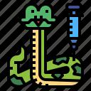 snake, vaccine, vaccination, animal, syringe