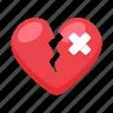 brokenheart, heart, love, romance, valentine, valentines, wedding