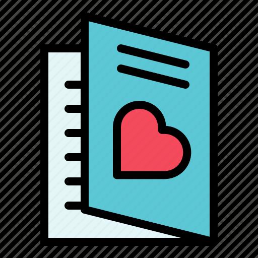greeting, invitation, invitation card, love, valentine icon