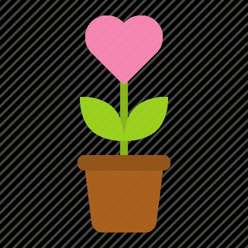 flora, floral, flower, love, romance, valentine icon