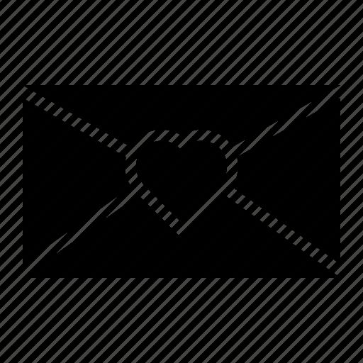 Envelope, letter, love, mail, valentine icon - Download on Iconfinder