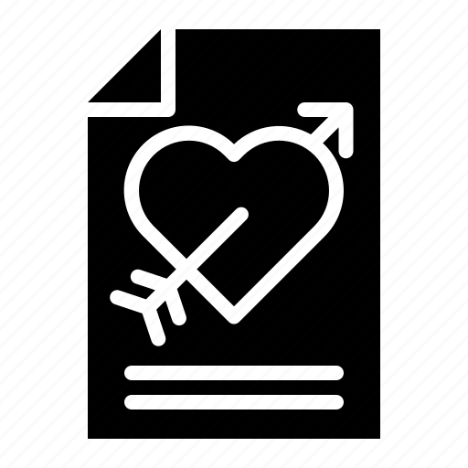 Letter, love, love letter, mail, romantic, valentine icon - Download on Iconfinder