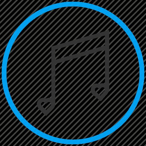 favorite music, favorite song, love music, love song, musical note, romantic music, romantic song icon