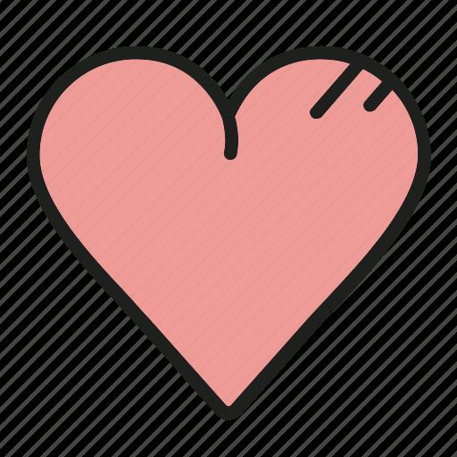 adore, heart, like, love, valentine icon