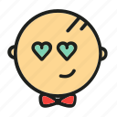 adore, like, love, smile, valentine icon