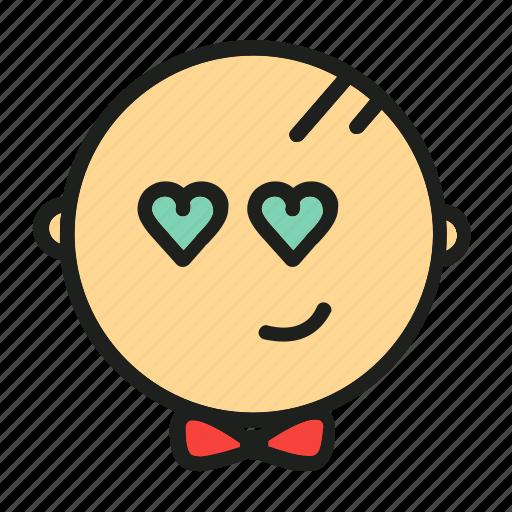 adore, like, love, smile, valentine icon