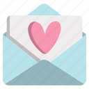 heart, letter, love, message, romance, valentine