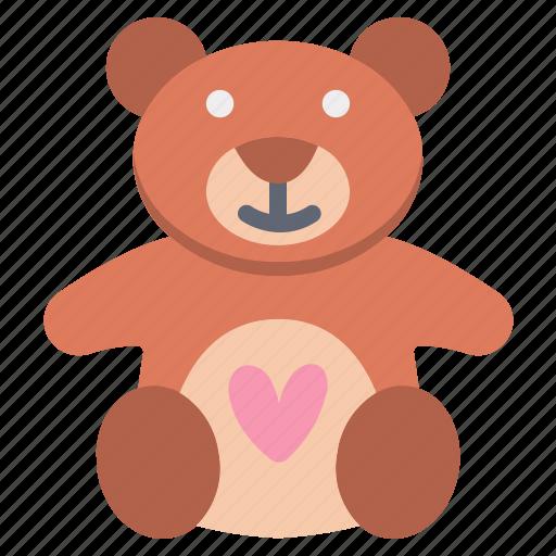 Bear, heart, love, teddy, teddy bear icon - Download on Iconfinder