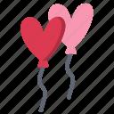 balloon, day, heart, love, romance, valentine, valentines