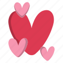 day, heart, love, romance, valentine, valentines icon