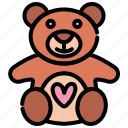 bear, day, teddy, valentine