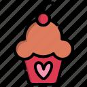 cake, cupcakes, day, dessert, food, sweet, valentine