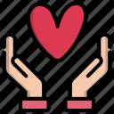 day, gesture, hand, heart, love, valentine