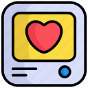 comment, love, message, chat, feedback, reating
