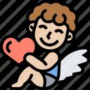 cupid, angel, romantic, love, valentine