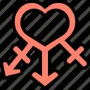 gender, love, romance, man, woman