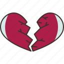 broken, heartbreak, sad, divorce, separation