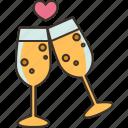champagne, celebration, drink, beverage, alcohol