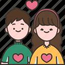 couple, boyfriend, girlfriend, together, romance