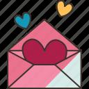 letter, love, romance, card, valentine