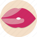 lips, valentine, valentine day icon