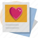 photo, valentine, valentine day icon