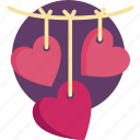 heart, valentine, valentine day icon