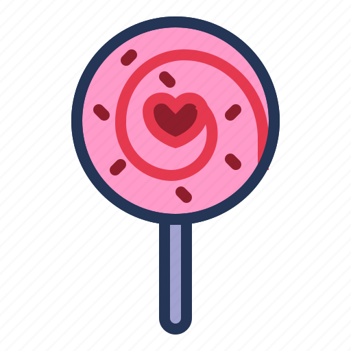 candy, lollipop, love, relationship, romance, sweet, valentine day icon