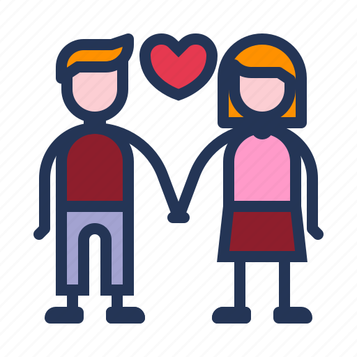 couple, dating, heart, love, relationship, romance, valentine day icon