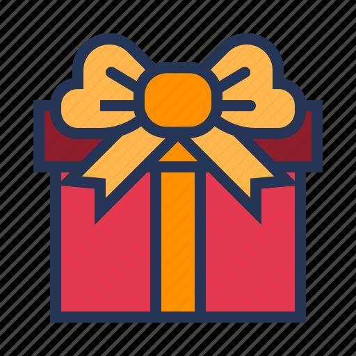 gift box, love, present, relationship, romance, surprise, valentine day icon