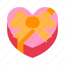 gift, love, present, relationship, romance, surprise, valentine day icon