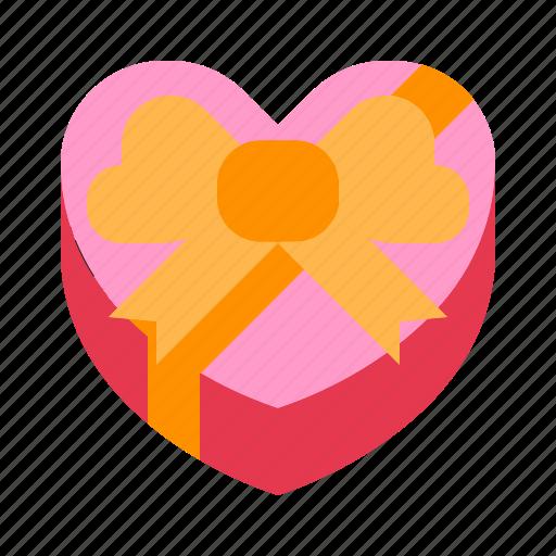 gift, love, present, relationship, romance, surprise, valentine day icon