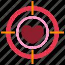 dartboard, heart, love, relationship, romance, target, valentine day