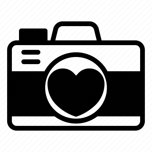camera, image, love, picture, relationship, romance, valentine day icon