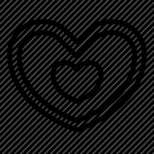 heart, like, love, relationship, romance, shape, valentine day icon