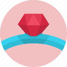 diamond, diamonds, love, ring, valentine, valentine's day icon