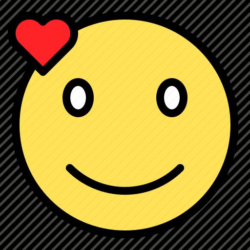 Emoji, emoticon, expression, smile, valentine icon - Download on Iconfinder