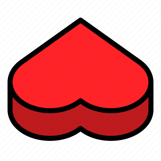 Box, heart, package, valentine icon - Download on Iconfinder