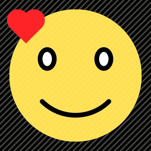 Emoji, emoticon, expression, love, smile icon - Download on Iconfinder