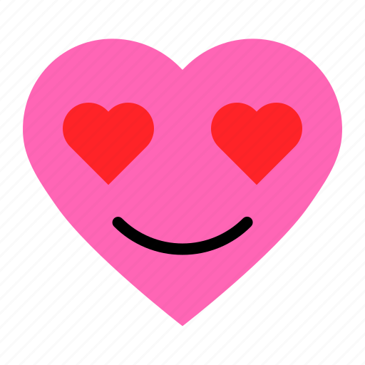Emoji, emoticon, heart, love icon - Download on Iconfinder