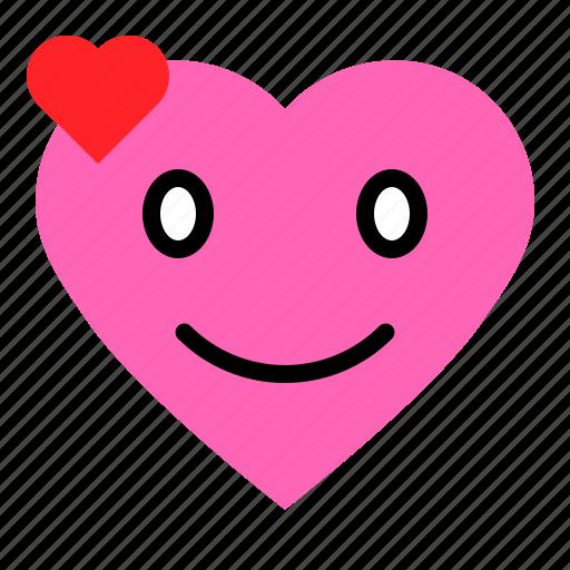 Emoji, emoticon, heart, love icon - Download on Iconfinder