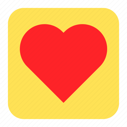 Heart, love, press, romantic icon - Download on Iconfinder