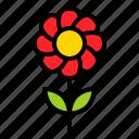 flora, floral, flower, romance, sunflower icon